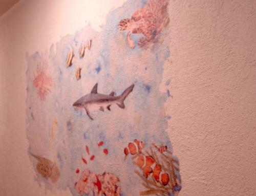 Aquarell Gemälde digitalisiert, vergrössert & gedruckt